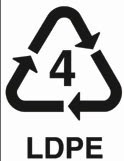 Kode 4 : Plastik Bahan LDPE
