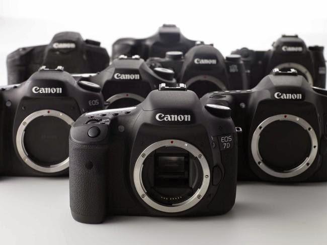 Daftar harga  kamera canon DSLR