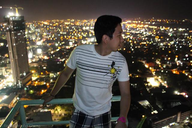 Renz Cheng in Sky Lounge Cebu