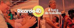 EU SOU RICARDO 40 GOVERNADOR