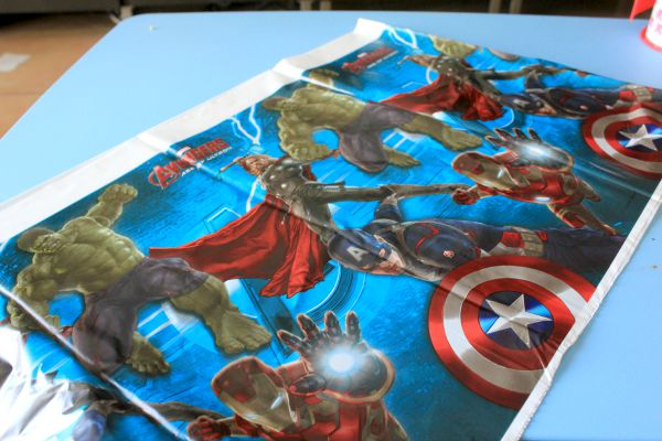 DIY Marvel Avengers Birthday Pinata #BDayOnBudget #ad