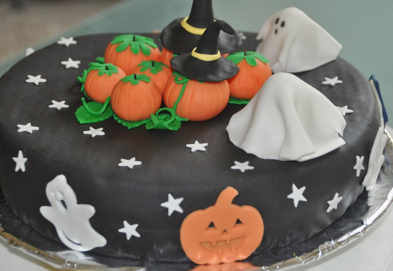 Deco gateau halloween pate a sucre for Idee deco gateau halloween