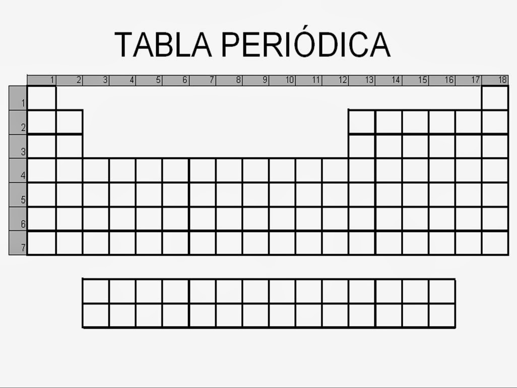 Tablas periodicas en blanco images tablas periodicas en blanco tabla peridica en blanco para tabla peridica en blanco para source abuse report urtaz Gallery