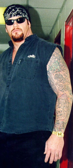 wwe tattoos. The Undertaker tattoos - WWE