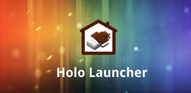 APK holo launcher v102 real ics launcher