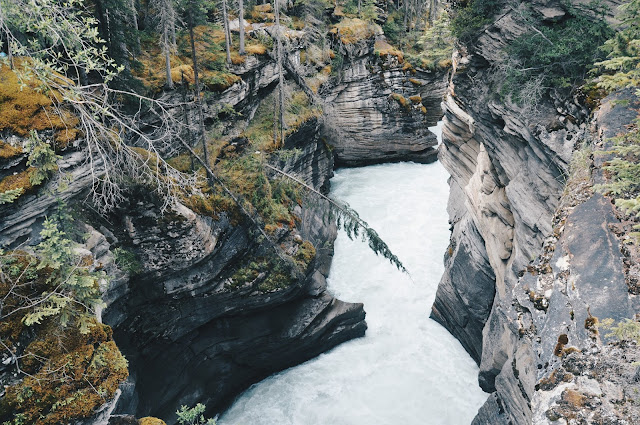 One Day Three Falls: Athabasca Falls