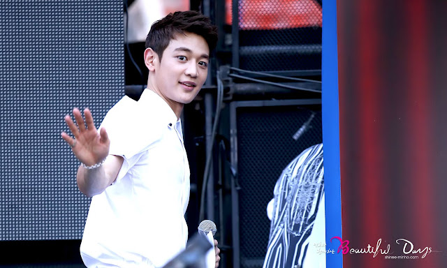Shinee Minho Korean Music Wave festival 2013 _2