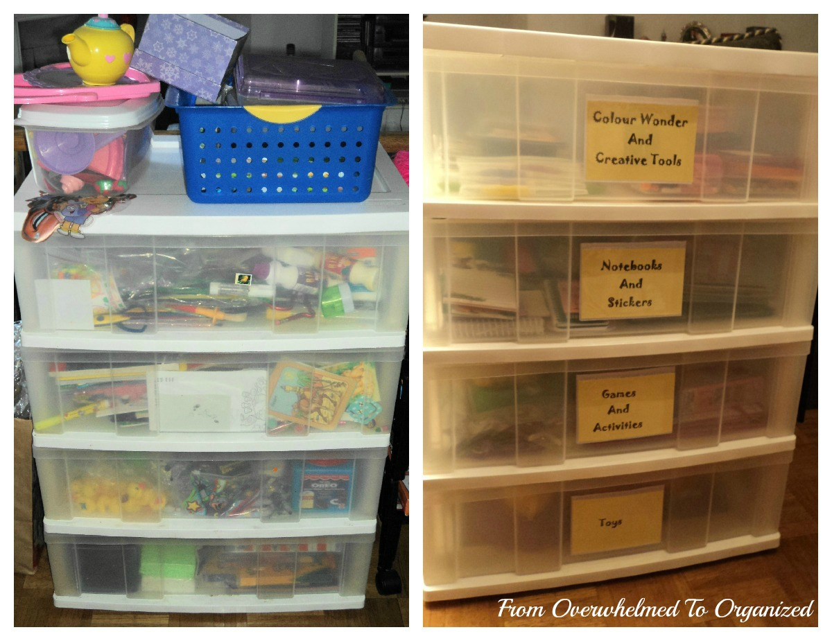 Organizing My Kids 39 Activity Drawers From Overwhelmed To