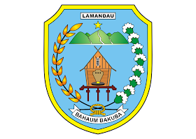 Kabupaten Lamandau Logo Vector download free