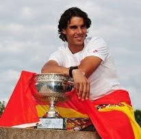 Rafa Nadal campeón de Roland Garros 2012