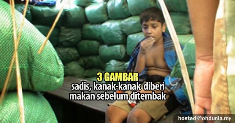 Sadis!. Kanak-Kanak Ini Diberi Makan Sebelum Ditembak (3 Gambar)