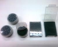 自作した加湿器を並べた写真