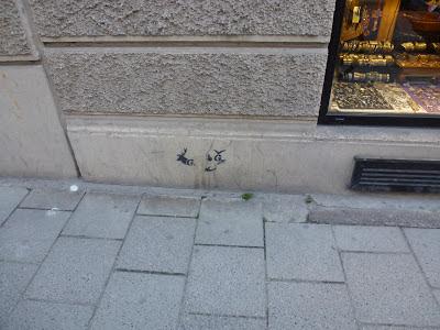 Stencil, Graffiti, Streetart