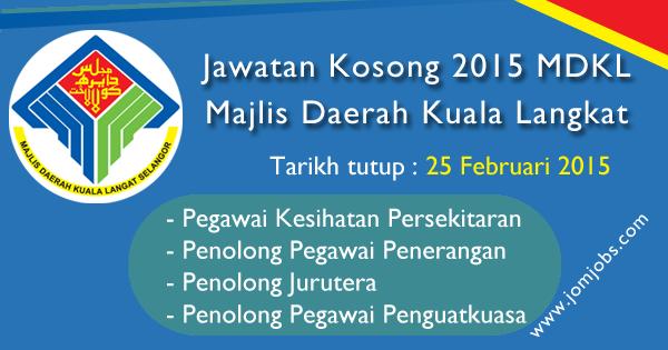 Jawatan Kosong Majlis Daerah Kuala Langat (MDKL) Terkini