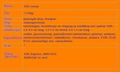 DHL snoepmix