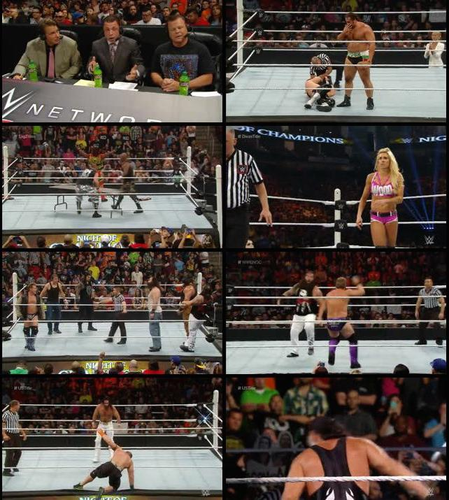 WWE Night of Champions 2015 PPV HDTVRip 480p