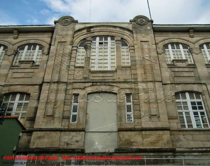 Fachada posterior del Edificio del Mercado
