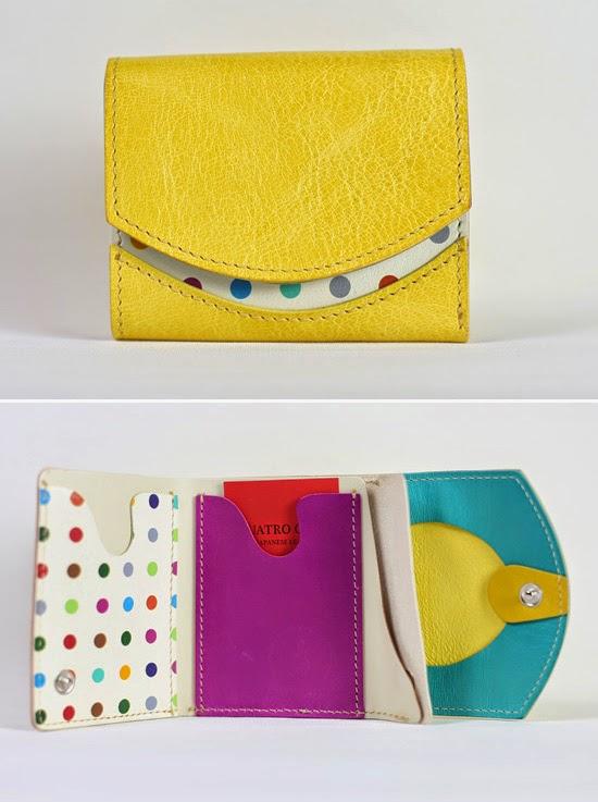 小さい財布 レモンスカッシュ