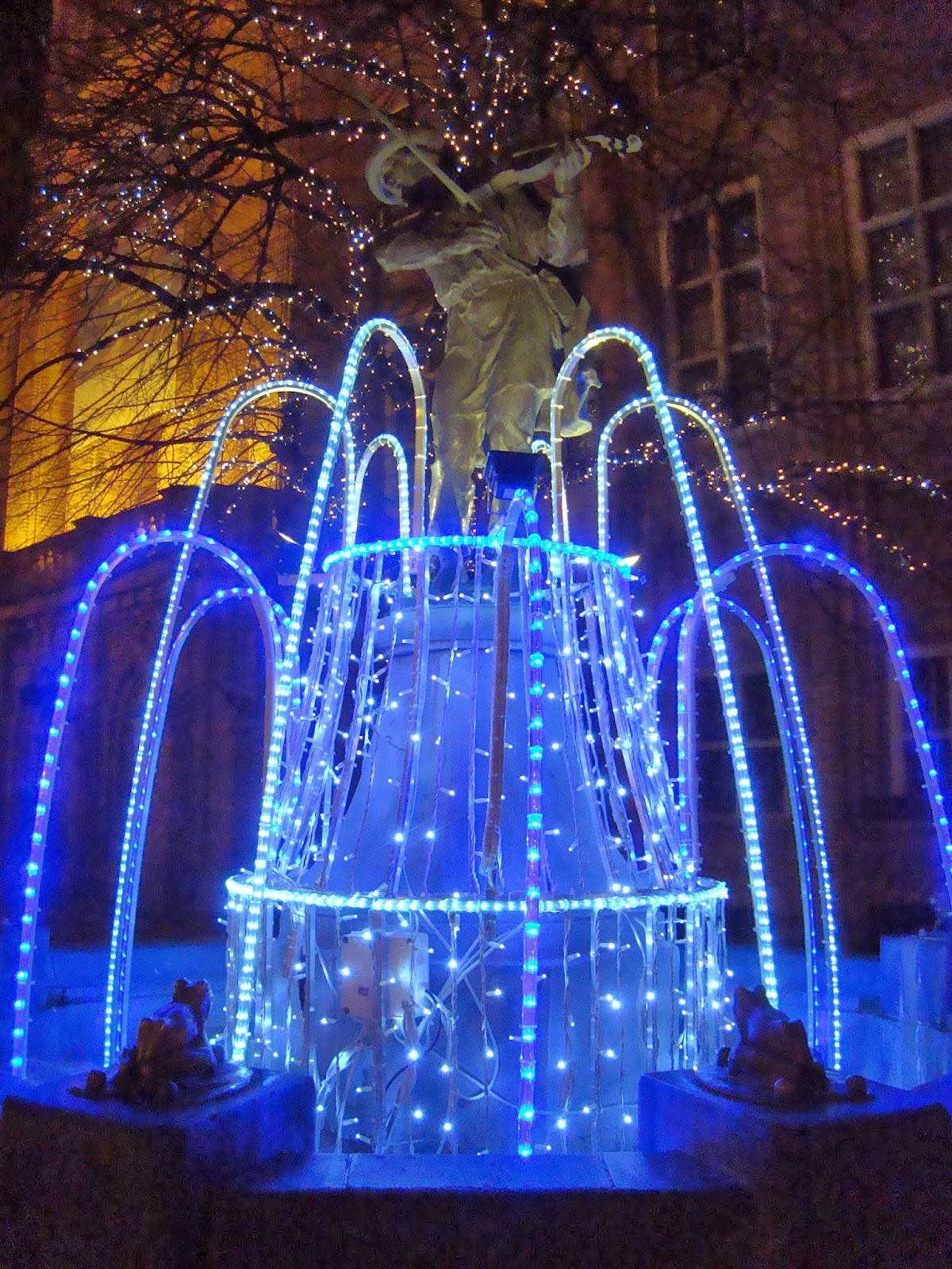 świąteczny Toruń, Flisak, stary rynek