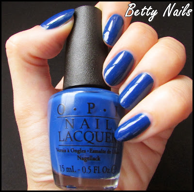 opi blue polish