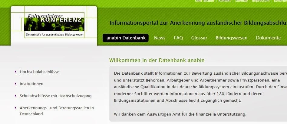 http://anabin.kmk.org/