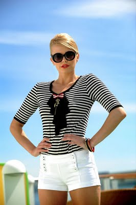 Beauty Fashion Trends Blogs: Women Nautical Chic Fashion ...