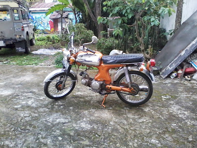 honda s 90 z 1970 orange editions