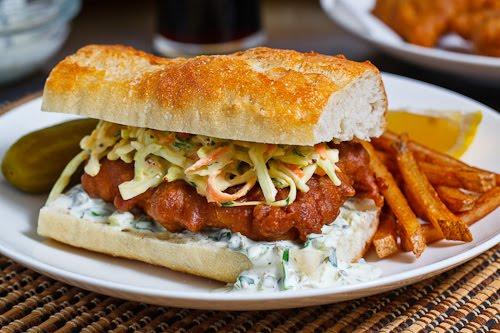 tartar sauce fried fish sandwiches with creamy slaw and tartar sauce ...