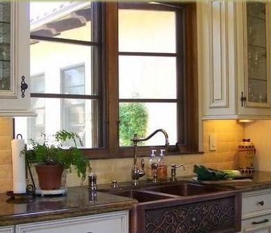 Fotos de cocinas cocinas de madera for Lavaplatos para esquinas