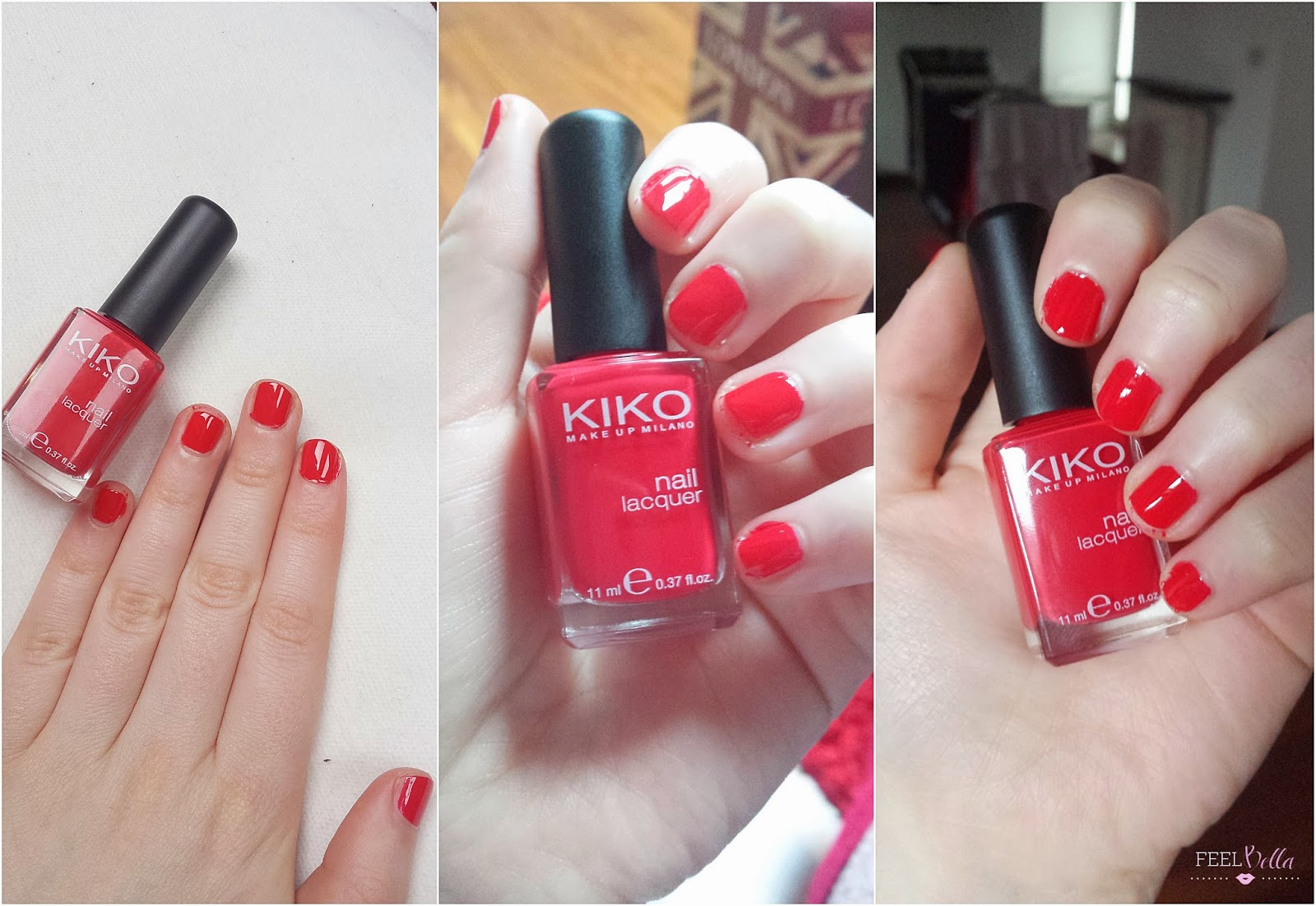 I Recently Added This Kiko Nail Lacquer To My Polishes Collection And Have Say That M Loving It The Shade Is 362 Poppy Red