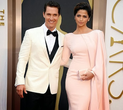 Matthew McConaughey hot wife Camila Alves