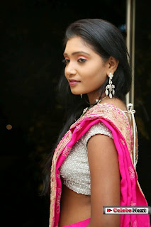Isha  Picture Gallery in Pink Saree