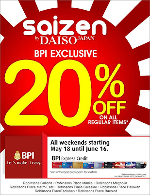 BPI Exclusive Promo,Saizen
