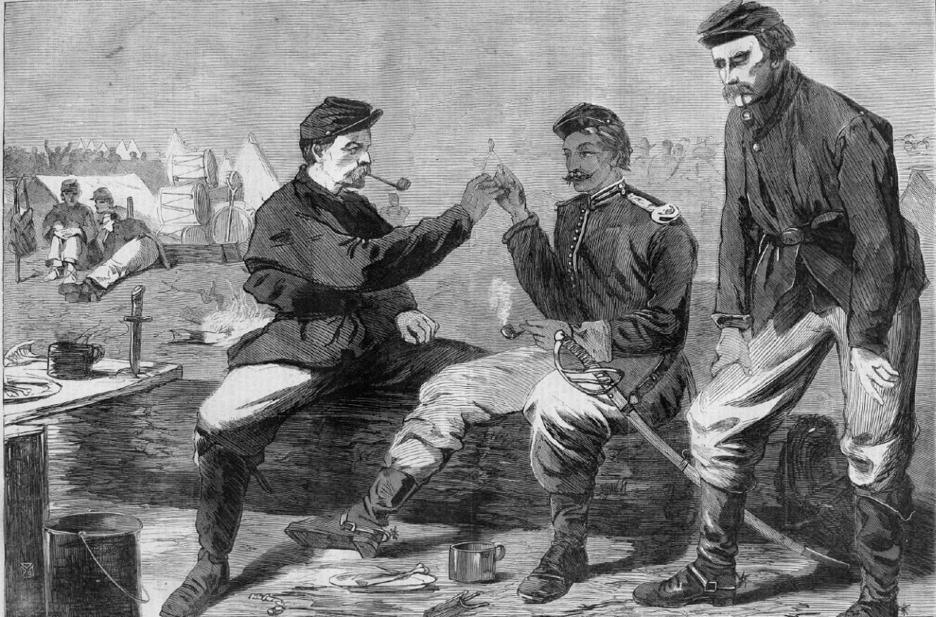19th Century American Paintings Winslow Homer Civil War