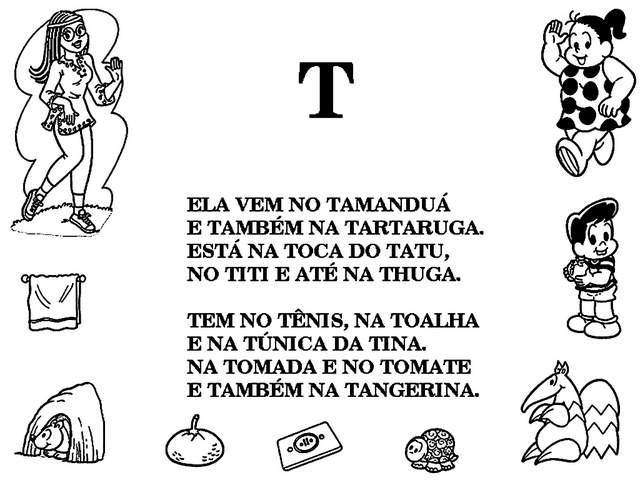 alfabeto em textos turma da mônica