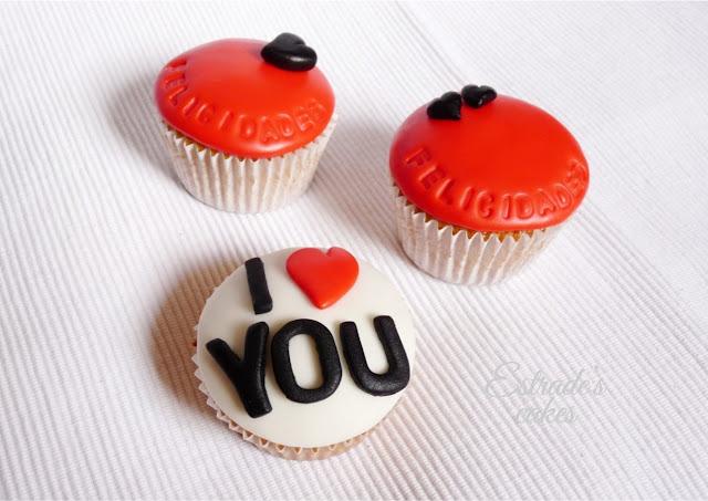 cupcakes de felicitación con fondant - 01