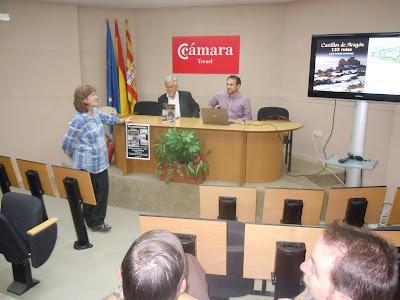 Presentación en la Cámara de Comercio de Teruel