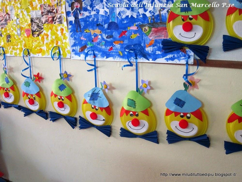 Carnevale con pagliacci e mascherine maestrarenata for Mussi arredamenti via parini lissone