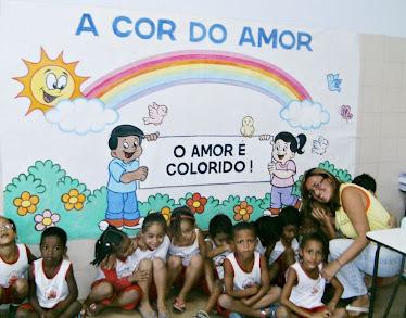 Visita as Salas de aula com as crianças