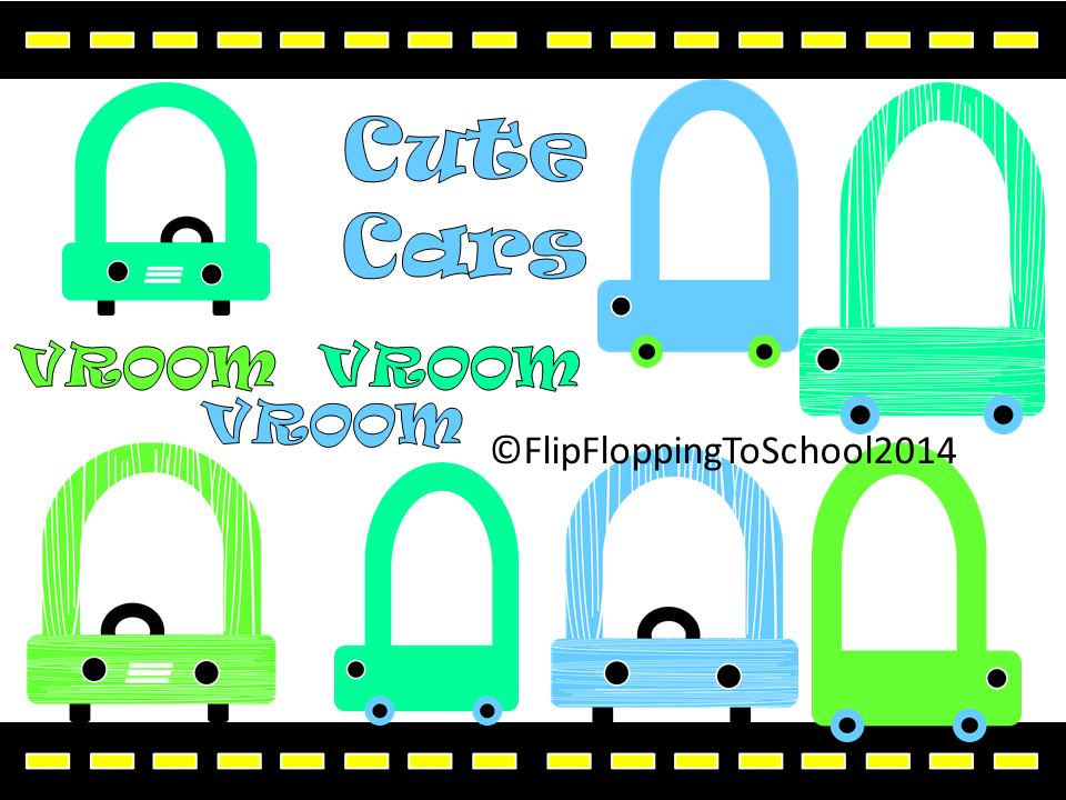 http://www.teacherspayteachers.com/Product/Cute-Car-Clipart-for-Commercial-and-Personal-Use-1351596