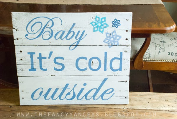 5 christmas pallet sign ideas