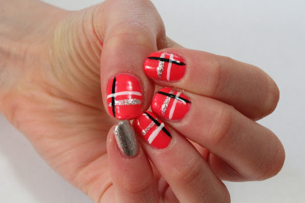 cute and easy nail design wild