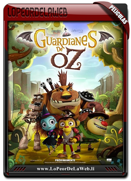 Guardianes de Oz 2015 720p Latino