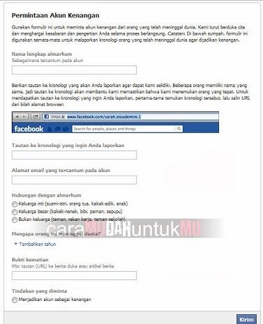 Menghapus Akun Facebook Orang Lain Cara Mudah Untukmu