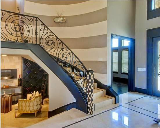 Foyer Modern Minimalis : Contoh model desain tangga rumah minimalis gaya modern