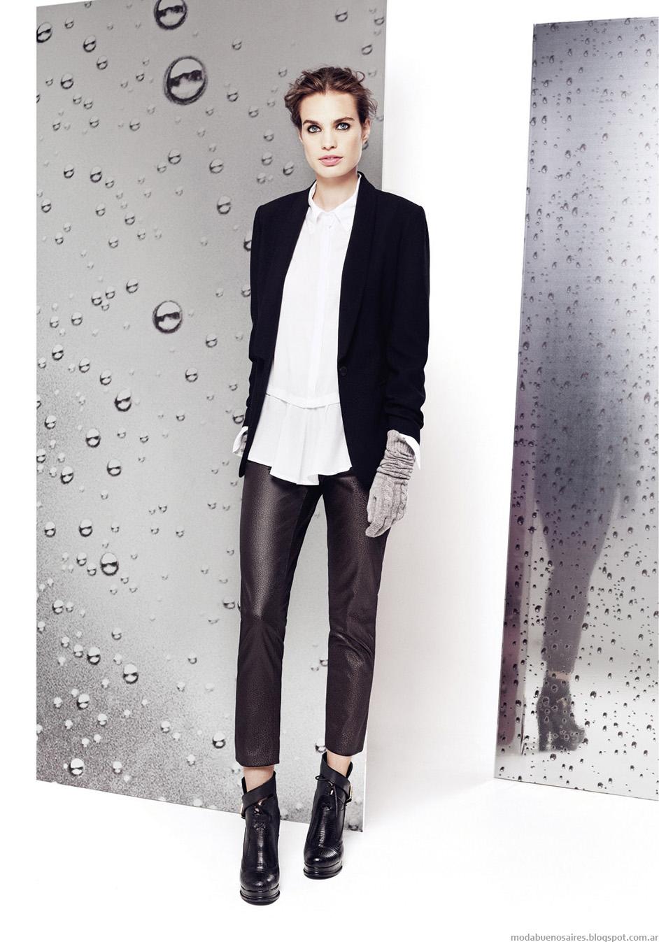 Sacos y pantalones invierno 2014 Graciela Naum.