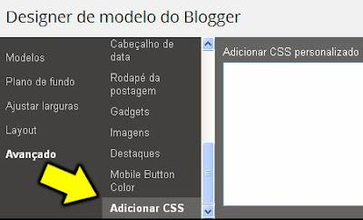 Dicas de CSS para Blogger