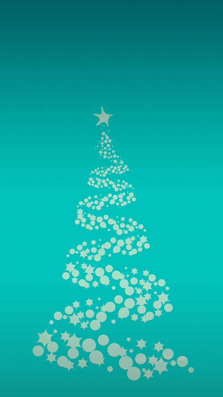 tree merry christmas iphone 7 wallpaper