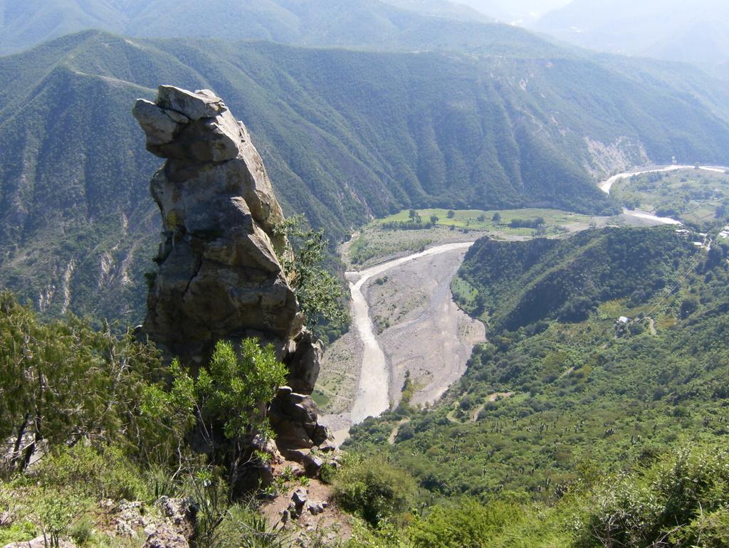 Peña del Aire en Huasca de Ocampo.
