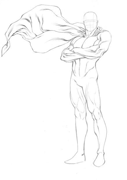 robert atkins art superhero